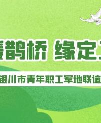"""青年婚恋专区丨""""情暖鹊桥•缘定工会""""宁夏银川市青年职工军地联谊活动"""